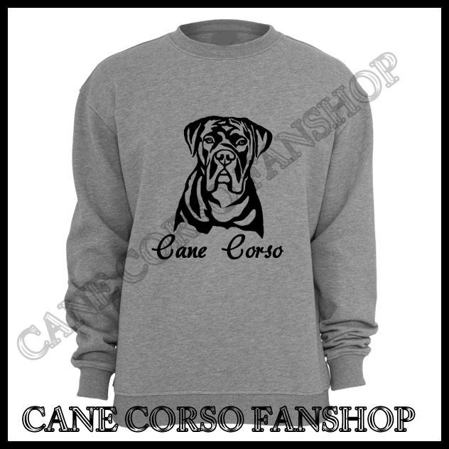 Sweatshirt Mit Druck Cane Corso Portrait Cane Corso Fanshop
