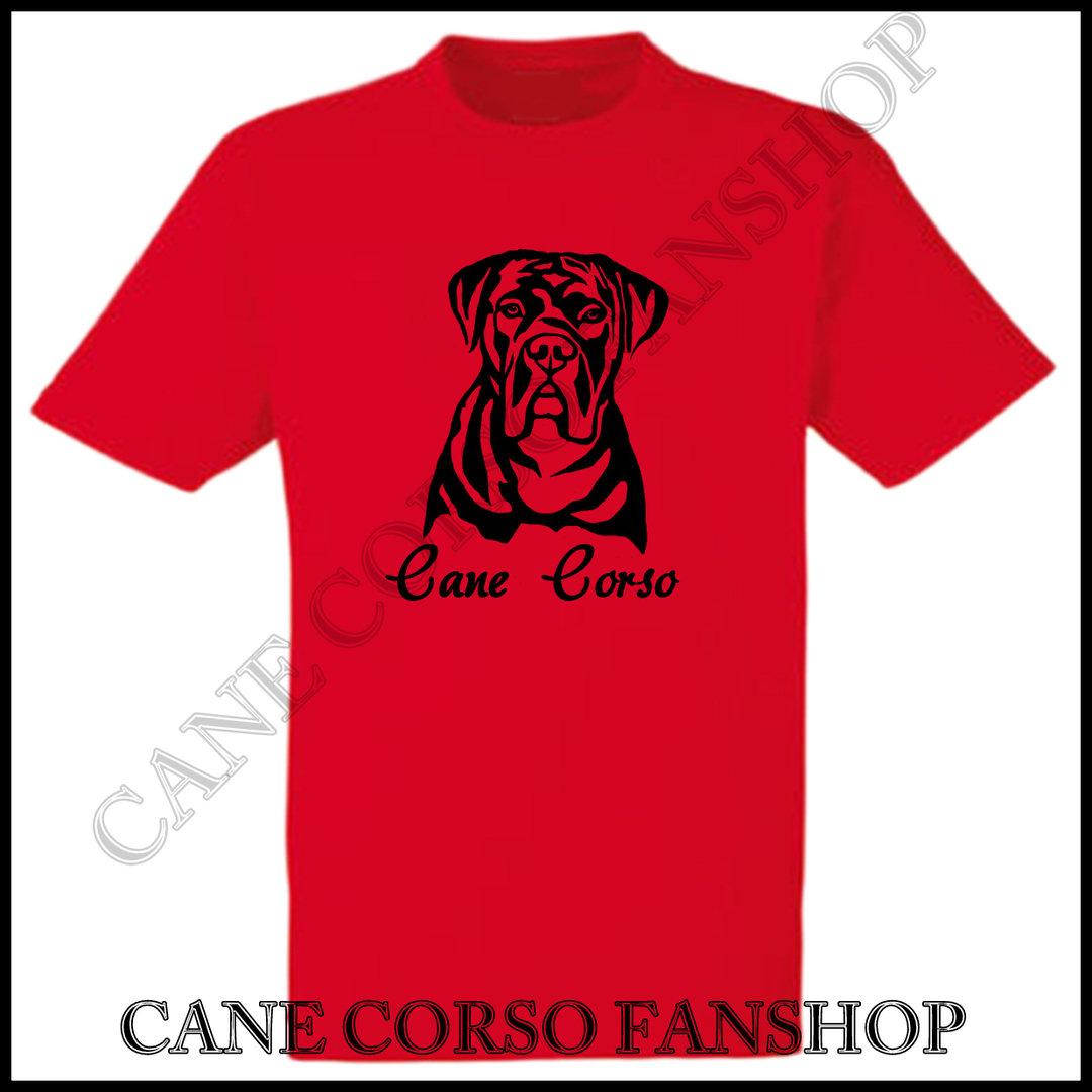 T Shirt Mit Druck Cane Corso Portrait Cane Corso Fanshop